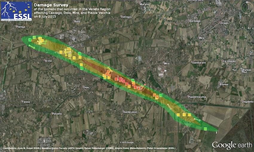 Mappa-tornado-f4-riviera-del-brenta - light&small
